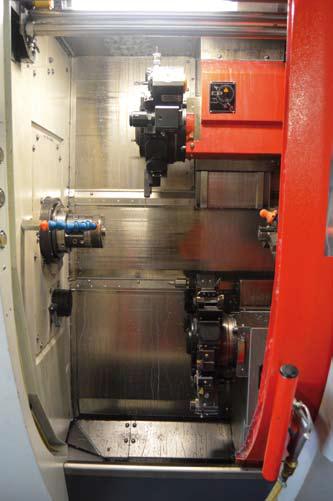 2 Stueck EMCO Hyperturn 45 (C Achse, Y Achse bis Stangenmaterial Rd.45)